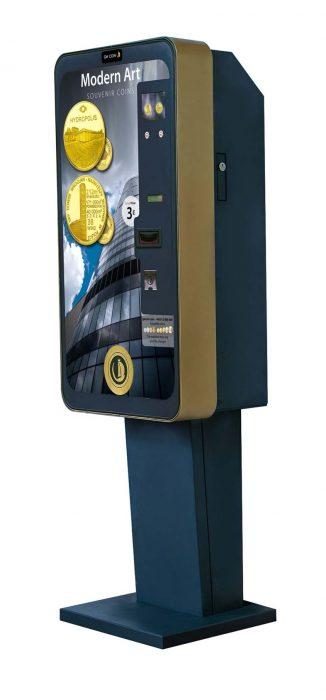 small souvenir coin machines